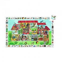 Puzzle Observation : La maison