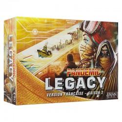 Pandemic Legacy Saison 2 : Boite Jaune