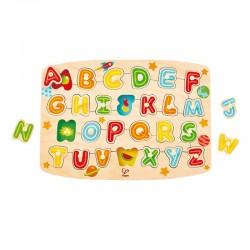 Puzzle à boutons alphabet