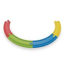 Rails multicolores