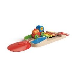 Rail xylophone