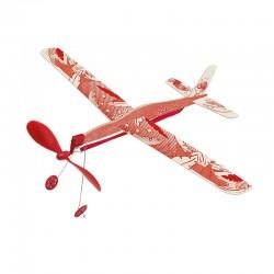 Avion à élastique