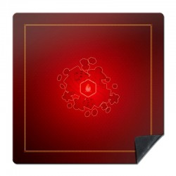 Grand tapis universel Rouge T3