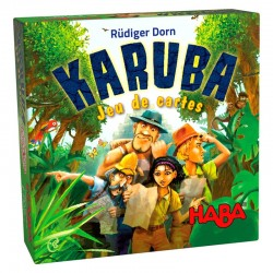 Karuba le jeu de cartes