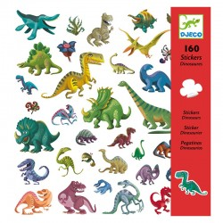 160 Stickers : Dinosaures