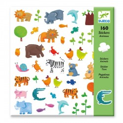 160 Stickers : Animaux