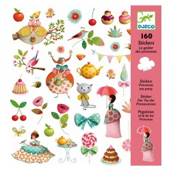 160 Stickers : Le gouter des princesses