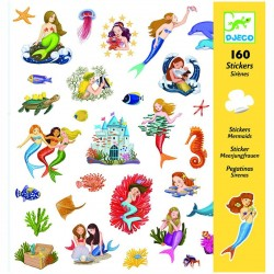 160 Stickers : Sirènes
