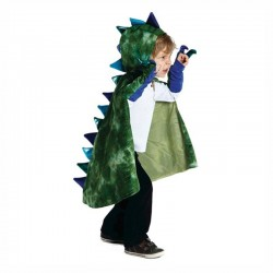 Cape de dragon avec griffes 5 - 6 ans