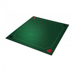 Tapis 70cm Coeur de pique Vert