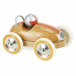 Roadster vintage bois naturel