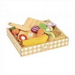 Fruits et légumes à découper Jour de marché
