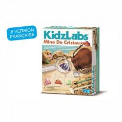 Kidzlabs : kit de la mine de cristaux