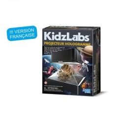 Kidzlabs science : projecteur hologramme