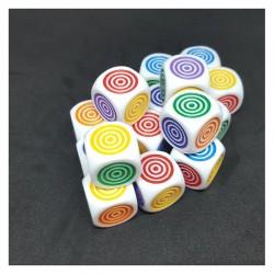 D6 à Cercles Concentriques (16 mm)