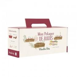 """Kit jardinière """"Mon potager de radis"""""""