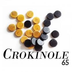 Crokinole 65 - Sachet de 24 palets