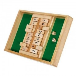 Shut the box Double 9