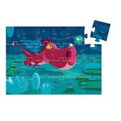 Puzzle silhouette : Edmond le dragon