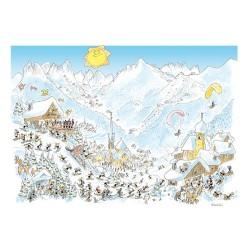 Puzzle Delle Formiche : Dolomite Hiver
