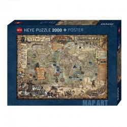 Puzzle Pirate World 2000p