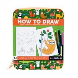 Kit pour créer et dessiner le monde des animaux