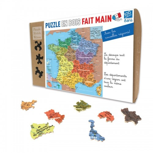 Puzzle Départements de France