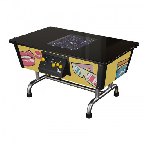 Arcade Table Back in Time Yellow