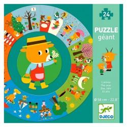 Puzzle Géant : L'année