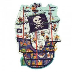Puzzle Géant : Le bateau des pirates