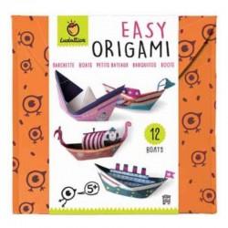Easy origami - bateaux
