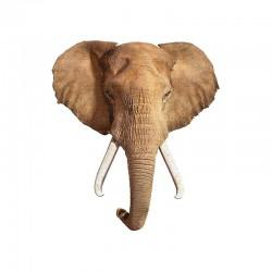 Puzzle tête d'éléphant
