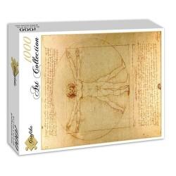 Puzzle Homme de Vitruve (de Vinci)