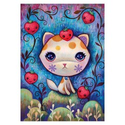 Puzzle Dreaming : Strawberry Kitty