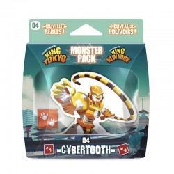 King of Tokyo Monster Pack : Cybertooth