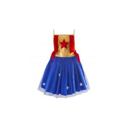 Tunique Wonder Woman 4-6 ans