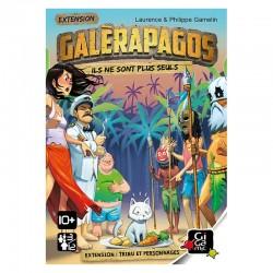 Galerapagos : extension Tribus et Personnages