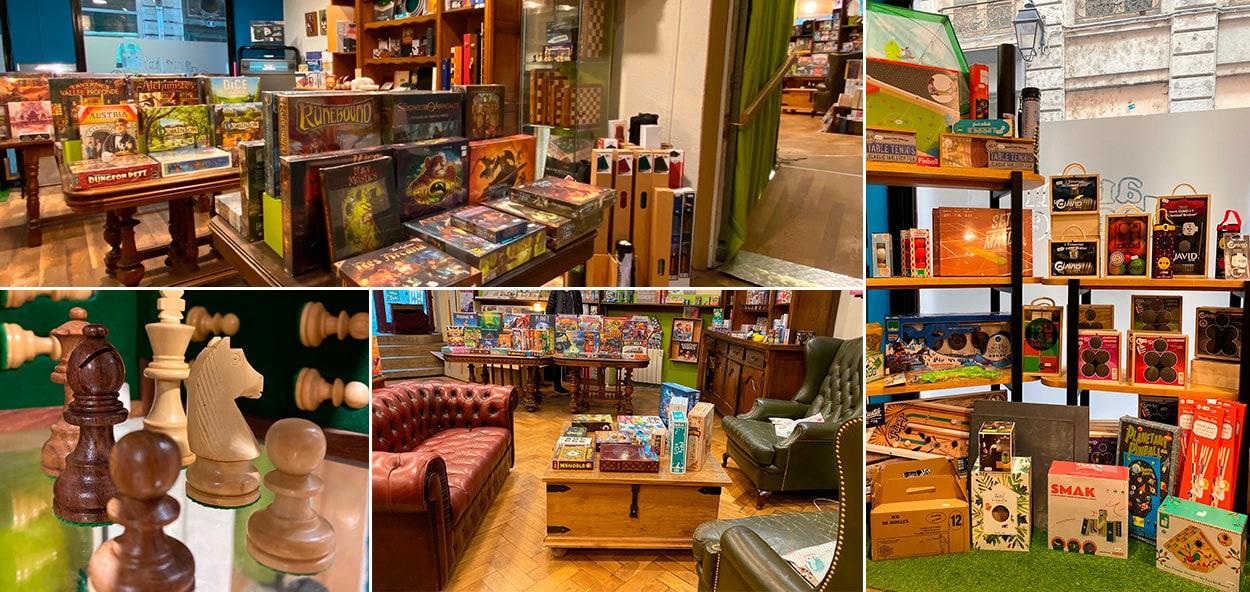 Photos du magasin de jeux